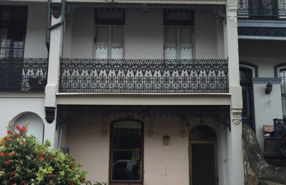 Glebe Terrace Façade Restoration Project