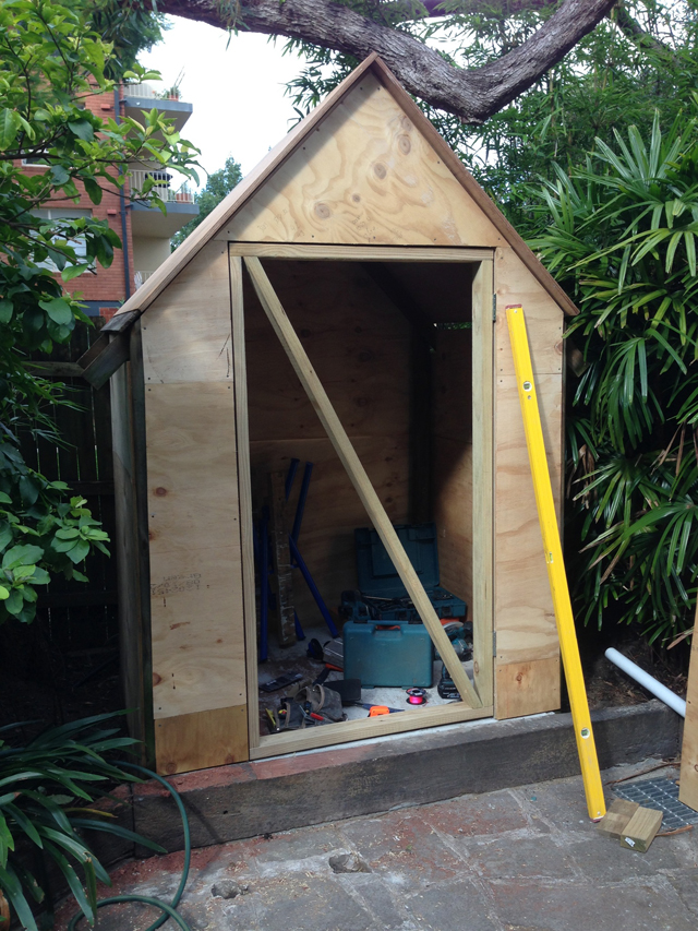 Mosman Shed Conversion Project5