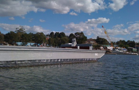 Oregon Barge Restoration Project