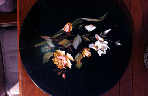 Pietra Dura Table Top Restoration Project